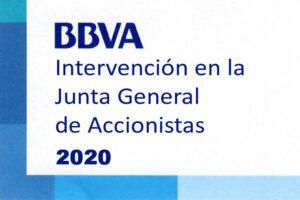 Intervencion Junta General BBVA